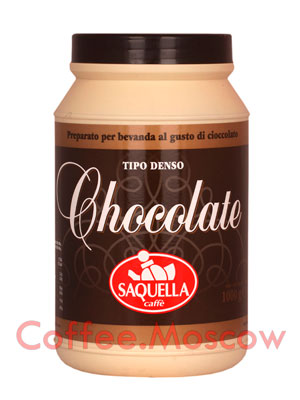 Горячий шоколад Saquella 1 кг банка