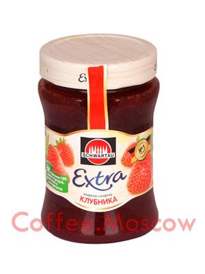 Конфитюр Schwartau Клубника 340 гр