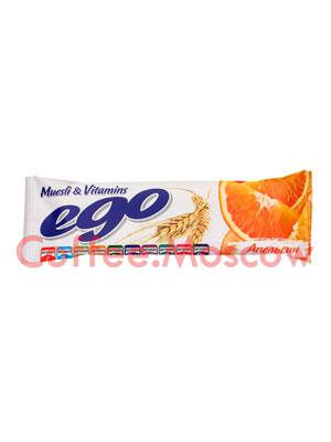 Батончики Мюсли Ego Апельсин с витаминами