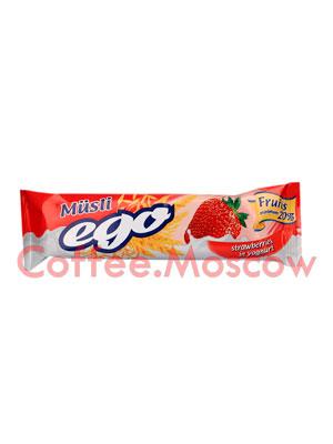 Батончики Мюсли Ego Клубника в йогурте