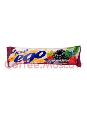 Батончики Мюсли Ego Лесные ягоды в йогурте