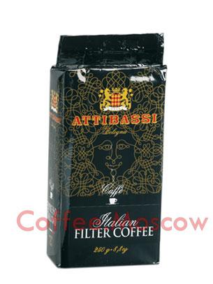 Кофе Attibassi молотый Arabica Filter 250 гр