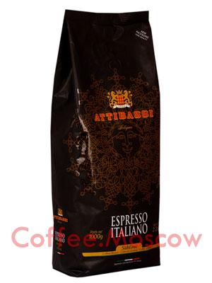 Кофе Attibassi в зернах Sublime 100% Arabica