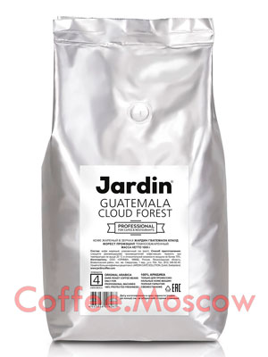 Кофе Jardin в зернах Guatemala Cloud Forest Professional 1 кг
