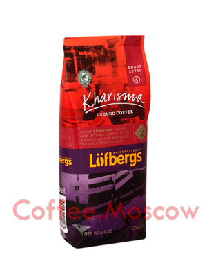 Кофе Lofberg Lila молотый Kharisma 250 гр