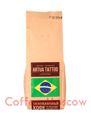 Кофе Artua Tattoo Coffeelab Бразилия в зернах 250 гр