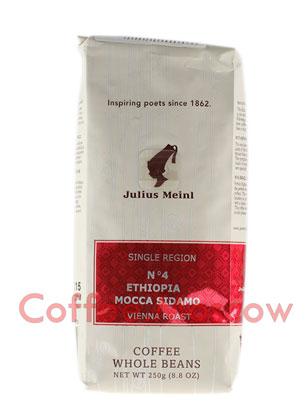 Кофе Julius Meinl в зернах Ethiopia Mocca Sidamo №4