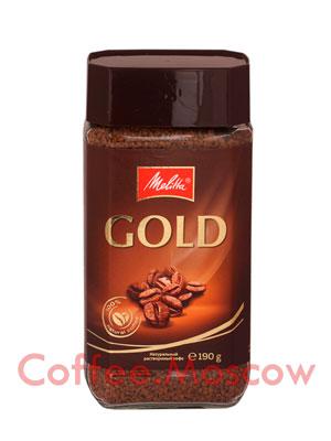 Кофе Melitta Gold растворимый 190 гр