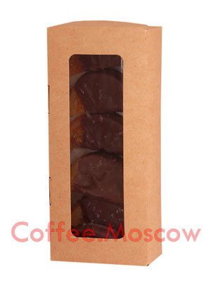 Бритарев апельсиновые дольки в горком шоколаде 200 гр