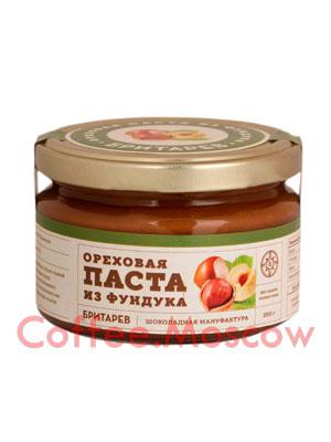 Бритарев ореховая паста с фундуком 200 гр