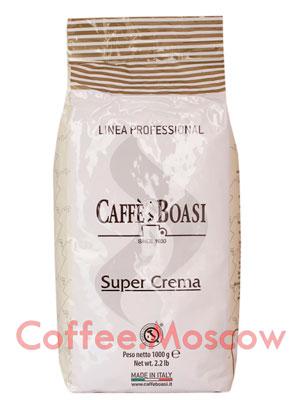 Кофе Boasi в зернах Super Crema Professional