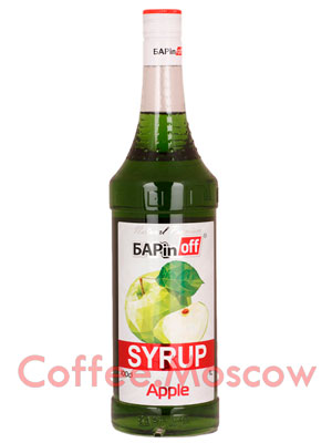 Сироп Баринофф Зеленое яблоко 1 л