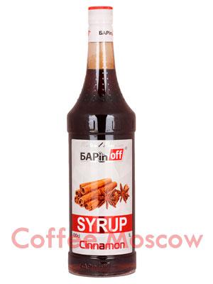 Сироп Баринофф Корица 1л