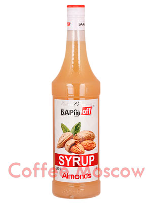 Сироп Баринофф Миндаль 1л