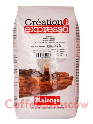 Кофе Malongo (Малонго) в зернах Nicaragua Maragogype 1кг