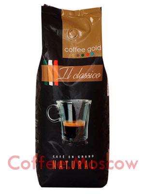 Кофе Coffee Gold в зернах Classico 1 кг