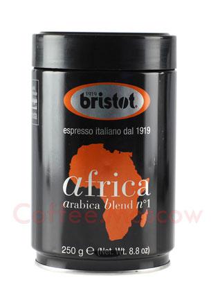 Кофе Bristot в зернах Africa 250 гр