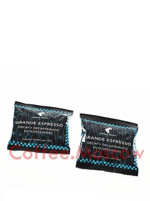 Кофе Julius Meinl в чалдах Grande Espresso Decaf