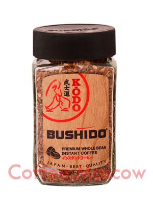 Кофе Bushido растворимый Kodo 95 гр (ст.б.)