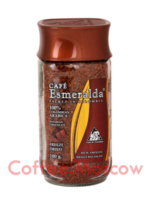 Кофе Cafe Esmeralda растворимый Баварский Шоколад 100 гр