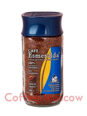 Кофе Cafe Esmeralda растворимый без кофеина 100гр