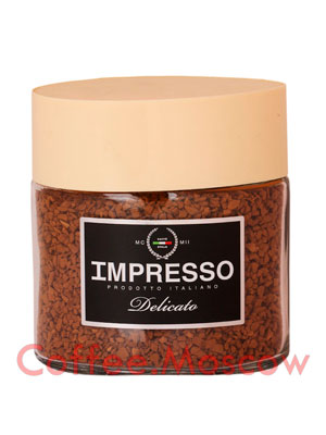 Кофе Impresso растворимый Delicato 100 гр