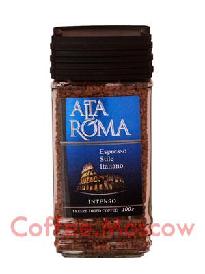 Кофе Alta Roma Intenso растворимый 100 гр ст.б