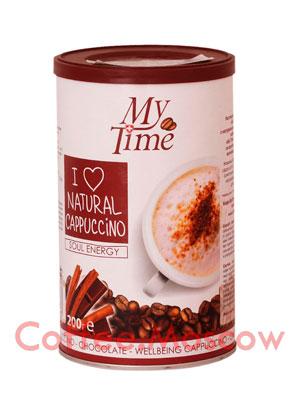 Кофе My Time Soul Energy Капучино с натуральным кофе и какао 200 гр