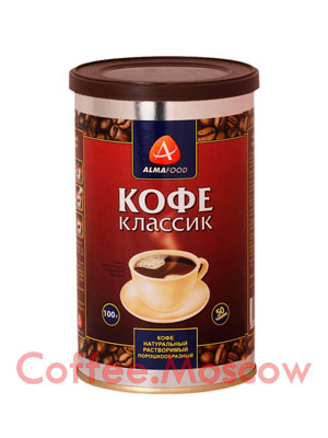 Кофе Almafood Классик растворимый 100 гр