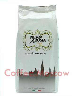 Кофе Nero Aroma в зернах Exclusive 100% Arabica 1кг