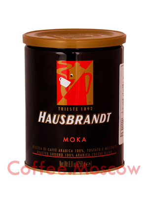Кофе Hausbrandt молотый Moka