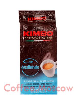 Кофе Kimbo молотый Decaf 250 гр