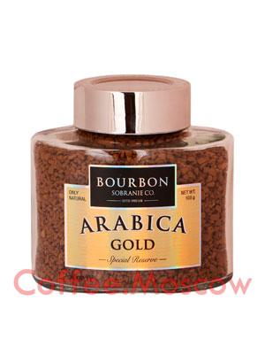 Кофе Bourbon растворимый Arabica Gold 100 гр