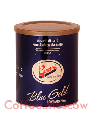 Кофе La Genovese молотый Blue Gold  250 гр