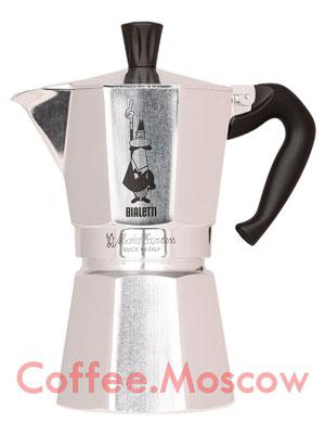 Гейзерная кофеварка Bialetti Moka Express 6 порций (240 мл)