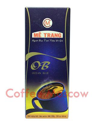 Кофе молотый Me Trang (Ми Транг) Ocean Blue 250 гр