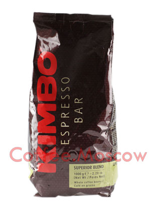 Кофе Kimbo в зернах Superior Blend 1 кг