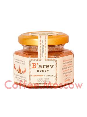 Мед Barev honey десертный с корицей 110 гр