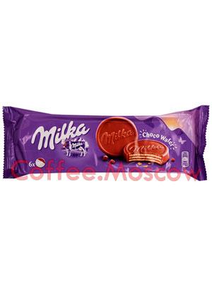 Бисквитное печенье Milka Choco wafer 180 гр