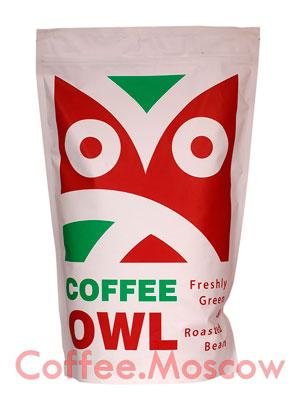 Кофе Owl в зернах Ethiopia Konga Natural 1 кг