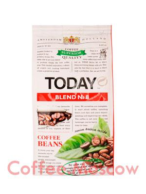 Кофе Today Blend №8 в зернах 200 гр