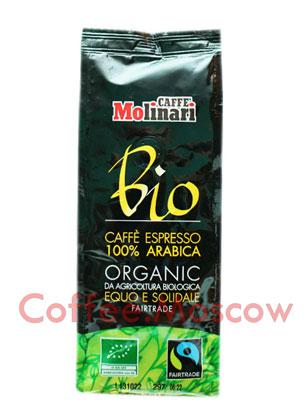 Кофе Molinari молотый Bio Organic