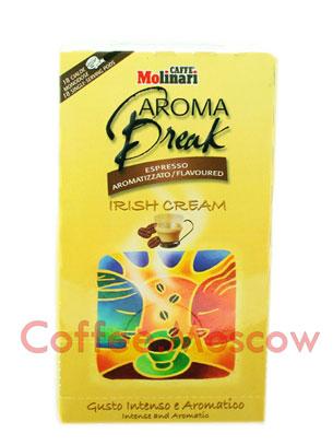 Кофе Molinari в чалдах Irish Cream