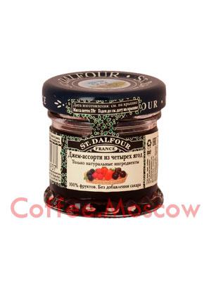 Джем St.Dalfour Ассорти из четырех ягод 28 гр