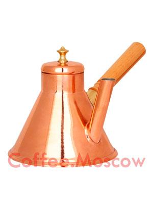 Кофейник медный Престиж 700 мл КФ-700