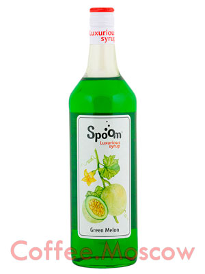Сироп Spoom Зеленая Дыня 1 л