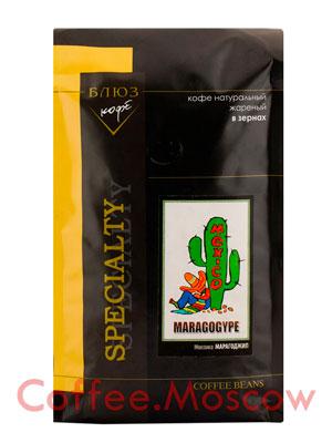 Кофе Блюз Mexico Maragogype в зернах 1 кг