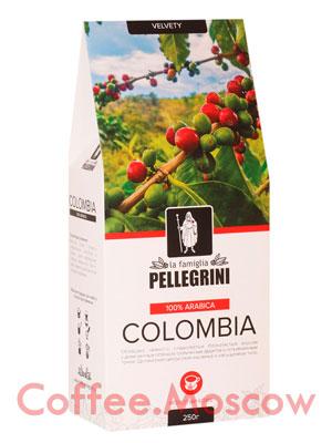 Кофе Pellegrini Colombia молотый 250 гр