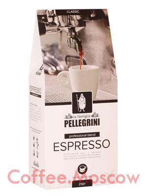 Кофе Pellegrini Espresso молотый 250 гр