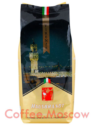 Кофе Hausbrandt в зернах Firenze 1 кг